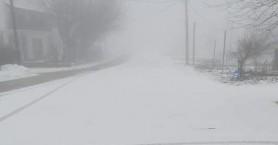 «Στρώθηκε» το πρώτο χιόνι στα οροπέδια της Κρήτης (φωτο)