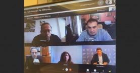 Επί τάπητος σοβαρά ζητήματα στη τηλεδιάσκεψη Λ. Αυγενάκη με τη Δ.Ε. του ΤΕΕ/ΤΑΚ