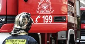 Μεγάλες ζημιές από πυρκαγιά σε διαμέρισμα στο Ηράκλειο