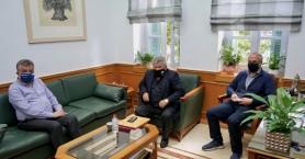 Συνάντηση για τα αναπτυξιακά θέματα του Δήμου Σφακίων