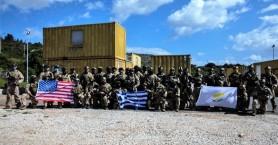 Εκπαίδευση κομάντο Ελλάδας – Κύπρου – ΗΠΑ στο ΚΕΝΑΠ στα Χανιά (φωτο)