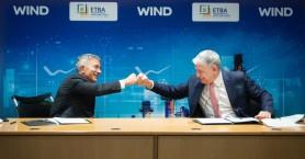 WIND: Νέα δίκτυα οπτικών ινών και υπηρεσίες ΙΟΤ στις Βιομηχανικές Περιοχές της ΕΤΒΑ
