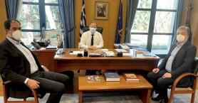 Συναντήσεις επί αθηναϊκού εδάφους για Αρναουτάκη με τον ΒΟΑΚ στο επίκεντρο