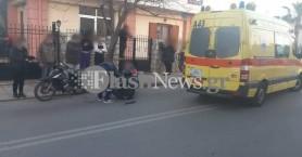 Τροχαίο ατύχημα στα Χανιά - Στο νοσοκομείο οδηγός (φωτο)