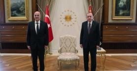 Ολοκληρώθηκε η συνάντηση Δένδια - Ερντογάν στην Αγκυρα