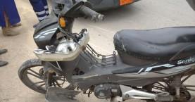 Μηχανάκι εξετράπη σε τροχαίο ατύχημα στα Χανιά