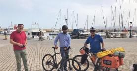 """""""Ποδηλατώντας την Ελλάδα"""": Με την υποστήριξη του Δήμου Χανίων το ποδηλατικό ταξίδι 7.000km"""