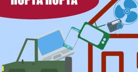 Σύστημα «πόρτα-πόρτα» για ηλεκτρικά και ηλεκτρονικά απόβλητα