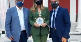 Τιμητικό βραβείο στην Περιφέρεια Κρήτης & το Πανεπιστήμιο Κρήτης από τα Βραβεία Τουρισμού