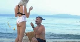 Γιώργος Μαυρίδης: Έκανε πρόταση γάμου στην σύντροφό του στην παραλία