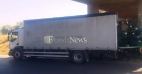 Νταλίκα με δεκάδες κλεμμένες μπαταρίες οχημάτων εντοπίστηκε στα Χανιά (φωτο)