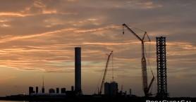 Ο πύργος εκτοξεύσεων της SpaceX κινδυνεύει με κατεδάφιση