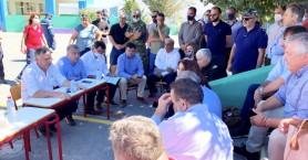 Σύσκεψη φορέων στο Αρκαλοχώρι για τη σεισμική ακολουθία