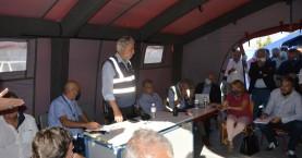 Στο Αρκαλοχώρι ο βουλευτής του ΜέΡΑ25, Γιώργος Λογιάδης