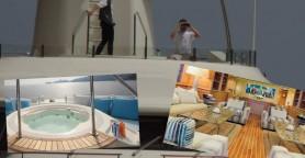 Πολυτέλεια υψηλών προδιαγραφών στην θάλασσα του Λουτρού (φωτό)