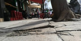 Σημείο παγίδα σε κεντρικό δρόμο των Χανίων (φωτο)