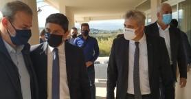 Λευτέρης Αυγενάκης: Στόχος να τρέξουν οι διαδικασίες για το κολυμβητήριο Νέας Χώρας (φωτο)