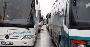 Συνέχεια κινητοποιήσεων των οδηγών τουριστικών λεωφορείων Κρήτης