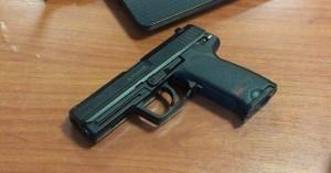 Του βρήκαν το πιστόλι που είχε σπίτι