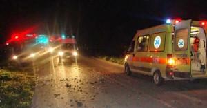 Τροχαίο δυστύχημα με νεκρό 24χρονο στην εθνική οδό της Κρήτης