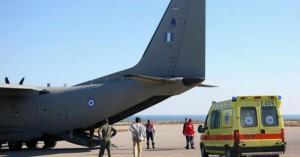 Αερομεταφορά για νεογνό από το Ηράκλειο προς την Ελευσίνα