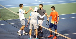 Τένις: Οι τέσσερις αγώνες στα διπλά