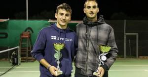 Τένις: Νικητές στα διπλά Καζανίδης-Τσιρανίδης