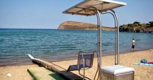 Τι απαντά ο δήμος Ρεθύμνου για τη χρήση των seatracs στις παραλίες του