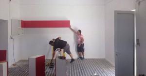 ΑΕΕΚ ΙΝΚΑ: Απέκτησαν… χρώμα τα αποδυτήρια στις Μουρνιές
