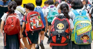 Σχολικές τσάντες σε λήθη...