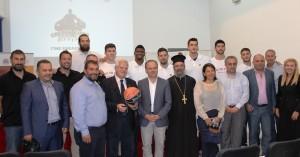 Σύμφωνο συνεργασίας Πανεπιστημίου Κρήτης µε ΚΑΕ Ρέθυµνο Cretan Kings