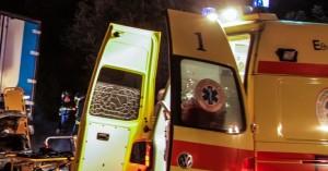 Τροχαίο ατύχημα  με δύο τραυματίες στο Ηράκλειο