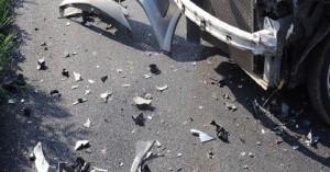 Μετωπική σύγκρουση στον ΒΟΑΚ, στο ύψος του Καβρού