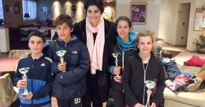 Τένις: Καλή παρουσία του ΟΑΧ στο τουρνουά της Λ. Δανιηλίδου
