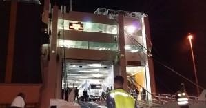 Μπλέχτηκε το σχοινί πρόσδεσης στις προπέλες του πλοίου στη Σούδα