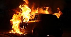 Αυτοκίνητο έγινε ...παρανάλωμα στα Χανιά