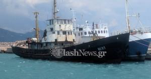 Κακουργηματικές διώξεις για το πλοίο με τα λαθραία τσιγάρα στην Παλαιόχωρα
