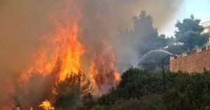 Πολύ υψηλός κίνδυνος φωτιάς και σήμερα στην Κρήτη