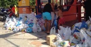 Διανομή προϊόντων παντοπωλείου από τον Δήμο Ηρακλείου