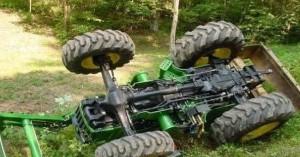 Νεκρός αγρότης που καταπλακώθηκε από τρακτέρ στην Κεφαλονιά