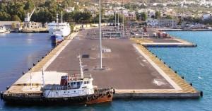 Απαγορεύεται η στάθμευση οχημάτων στο λιμάνι της Σούδας