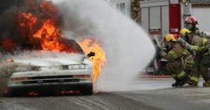 Παρανάλωμα του πυρός έγινε αυτοκίνητο στον Άγιο Μηνά