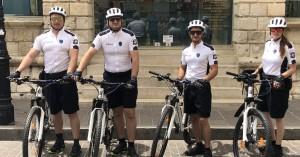 Ξεκίνησε η αστυνόμευση με ποδήλατα στο Ρέθυμνο