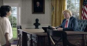 Η viral διαφήμιση με τον ανήλικο μουσουλμάνο να συναντά Μέρκελ,Τραμπ,Πούτιν