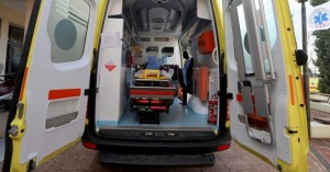 Στο Νοσοκομείο Ρεθύμνου 19χρονος που έχασε τον έλεγχο της μηχανής του