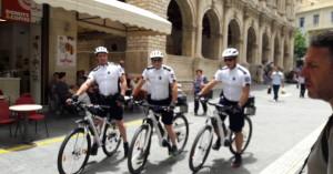Nτεμπούτο για τους ποδηλάτες - αστυνομικούς