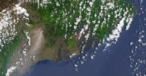 Φωτογραφίες: Η έκρηξη του Κιλαουέα όπως φαίνεται από το Διάστημα