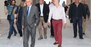 Επίσκεψη στη νέα Ιχθυαγορά από τον Δήμαρχο Ηρακλείου