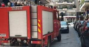 Επίθεση με γκαζάκια σε πολυκατοικία στην Καλαμαριά