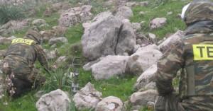 Μεταφέρθηκε το στρατιωτικό βλήμα που βρέθηκε την Τρίτη στο Σέιχ Σου